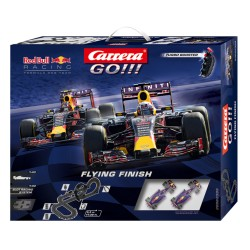 "Carrera GO racebaan startset ""flying Finish"" 1/43 530cm"