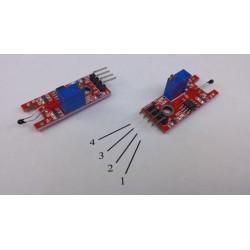 Arduino temp sensor module digit/anal