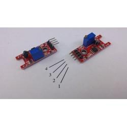 Arduino touch sensor module