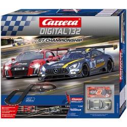 Carrera Digital 132 Racebaan GT Championship 7,6mtr.