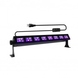 LED Black light bar 8x3W(!) uv