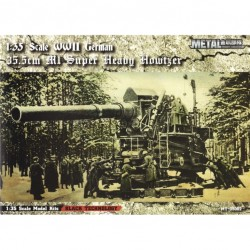 M1 35,5CM SCHWERES GESCHUTZ WWII 1/35