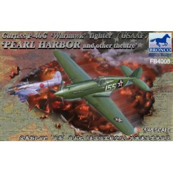 "CURTISS P-40C WARHAWK ""PEARL HARBOR"" 1/48"