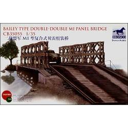 BAILEY TYPE DOUBLE-DOUBLE M1 PANEL BRIDGE 1/35