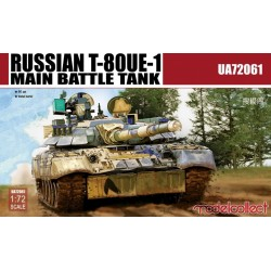 RUSSIAN T-80UE-1 MAIN BATTLE TANK 1/72