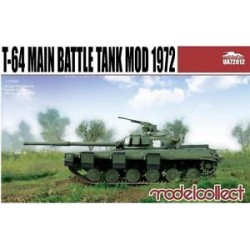 T-64 MAIN BATTLE TANK MOD. 1972 1/72