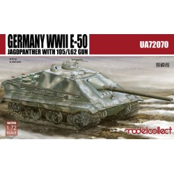 GERMAN WWII E-50 WITH 105/L62 GUN 1/72