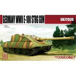 GERMAN WWII E-100 STUG GUN 1/72