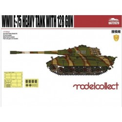 WWII E-75 HEAVY TANK WITH 128 GUN 1/72