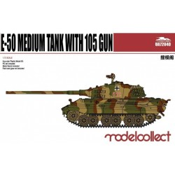 E-50 MEDIUM TANK WITH 105 GUN 1/72