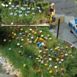 Zomer bloemen 120st. 1/87 H0 schaal