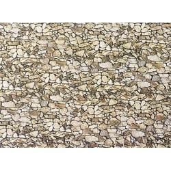 1:160 muurplaat grove natuursteen 250x125mm
