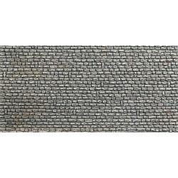 1:87 grove natuursteen muur250x125mm