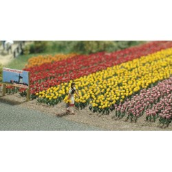 Tulpen 120st. 1/87 H0 schaal