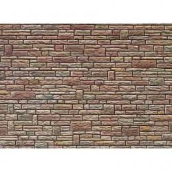 1:87 zandsteen muur gemengd 250x125mm