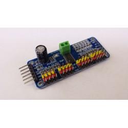 Multi servo board max 16x servo 5 volt