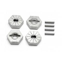 17mm alu wheel hub + pin 1/8 4st.