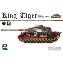 WWII GERMAN HEAVY TANK SD.KFZ182 KING TIGER 1/35