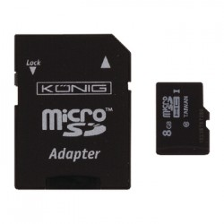 micro SDHC memory card 8G+ adapter
