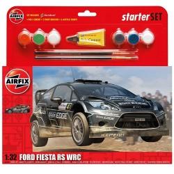 GESCHENKSET FORD FIESTA RS  WRC 1/32
