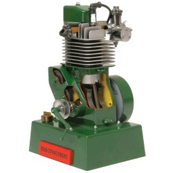 FOUR STROKE ENGINE 122 X 198mm