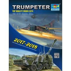Trumpeter plastic catalogus 17-18
