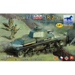 SKODA LT VZ35 & R-2 TANK 1/35