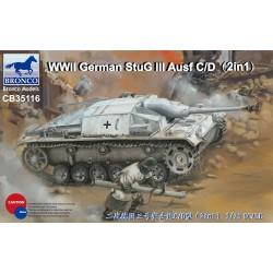 WWII GERMAN STUG III AUSF C/D 1/35