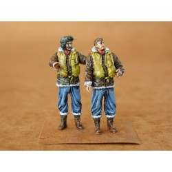 RAF FIGHTER PILOTS WWII 2FIG. 1/48