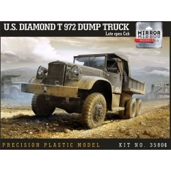 U.S. DIAMOND T972 DUMP TRUCK LATE OPEN CAB 1/35