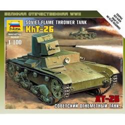 SOVIET FLAME TROWER TANK KHT-26 1/00