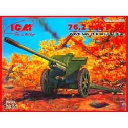 76,2MM F-22 WWII SOVIET DIVISIONAL GUN 1/35
