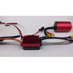 1/16, 1/18  brushless motor set 4500KV 25Amp
