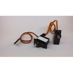 LC Micro servo metal gear 23x12x28.5mm 2kg/cm