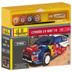 GESCHENKSET CITROEN C4 WRC'10 1/43