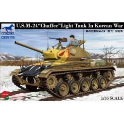 US M-24 LIGT TANK CHAFFE IN KOREAN WAR 1/35