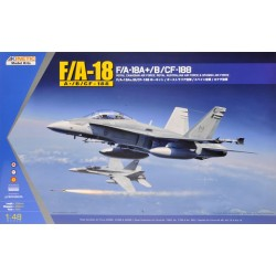 KINETIC F/A-18A+/B/CF-188 1/48
