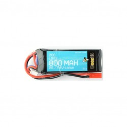 2S 7.4v 800mAh 20C Lipo Battery (13 x 26 x 70mm - 55g)