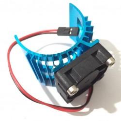Heatsink/fan voor 500-600motor 5-9V