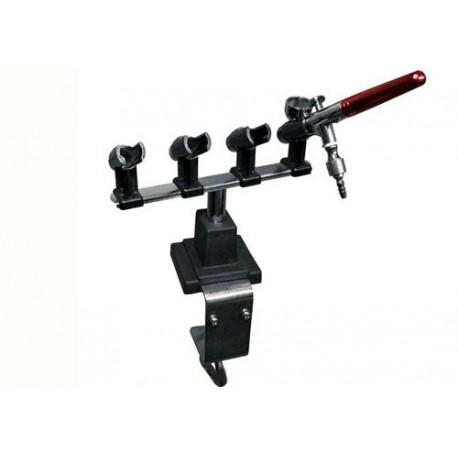 Airbrushtafelhouder voor 4 airbrushpistolen