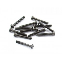 Round head self tapping screw 2.3x16mm 12st.