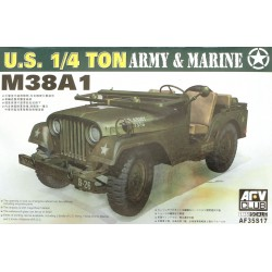 U.S. 1/4 TON M38A1 JEEP 1/35