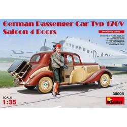 GERMAN PASSENGER CAR TYP 170V SALOON 1/35