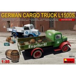 GERMAN CARGO TRUCK L1500S 1/35