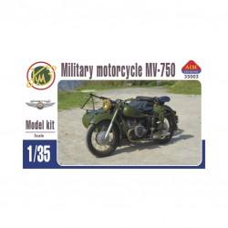 MILITARY MOTOR MV-750 1/35