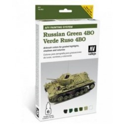 AFV armour painting system russian green 6st.