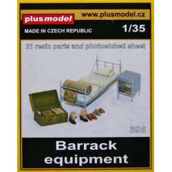 BARRACK EQUIPMENT 1/35