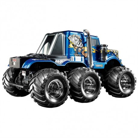 6x6 Monster truck Konghead 1/18 KIT-VERSIE!