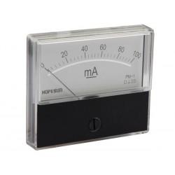 paneelmeter 70x60mm 100uA