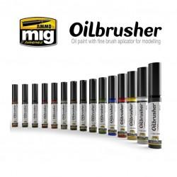 MIG Oilbrusher white 10ml.